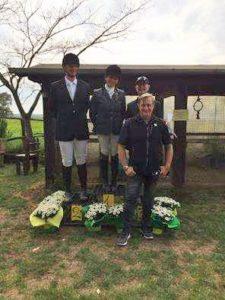 Francesco Dario Mostacci con i suoi allievi