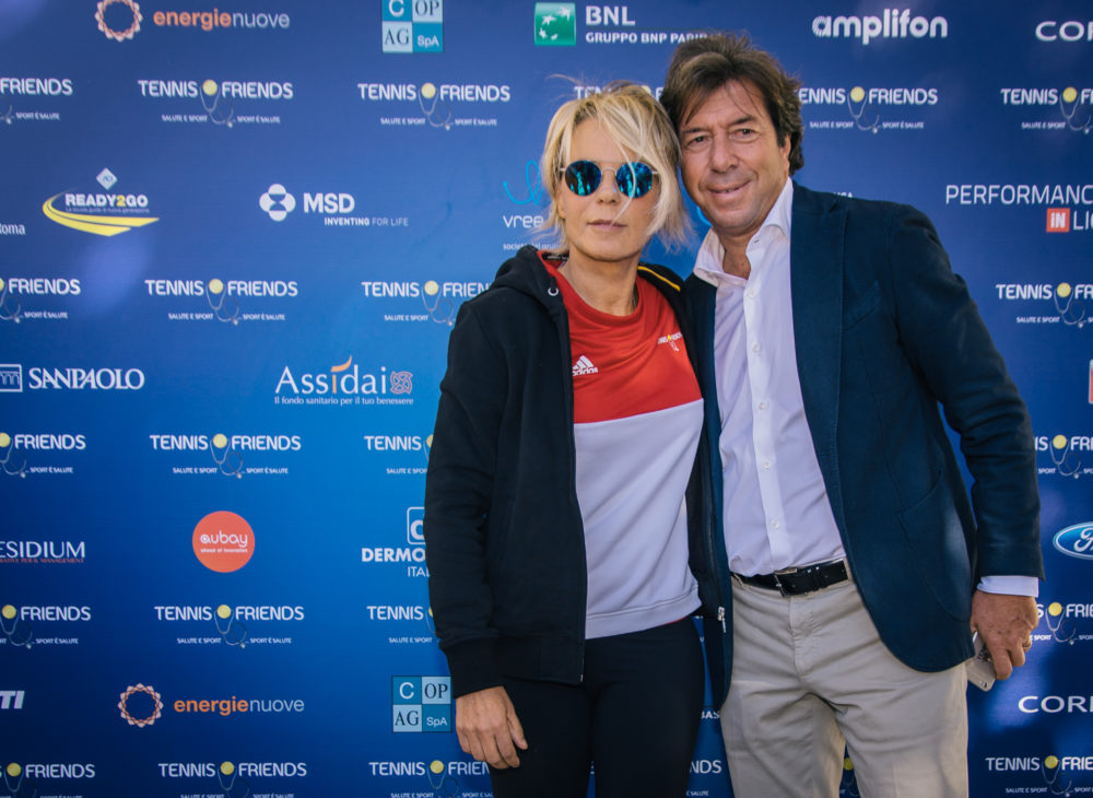 Tennis and Friends OTTOBRE_2017_Maria_De_Filippi