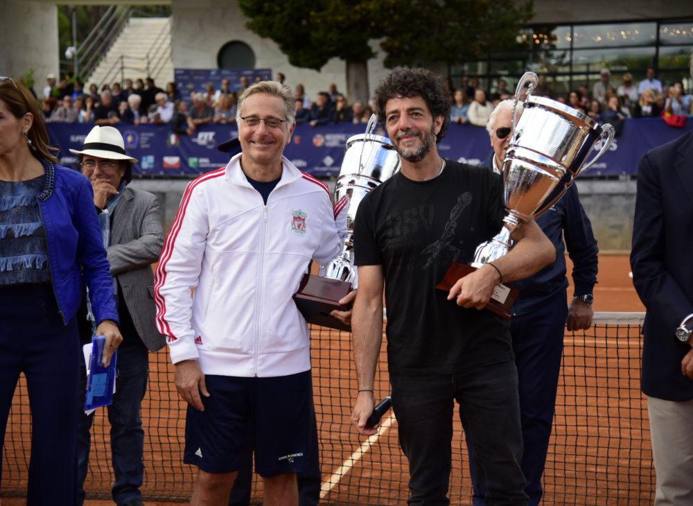 Tennis_&_Friends_ottobre_2017_Al_Bano_Veronica_Maya_Paolo_Bonolis_Max_Gazze