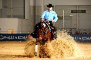 Guglielmo Fontana reining