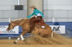Gina Maria Schumacher reining