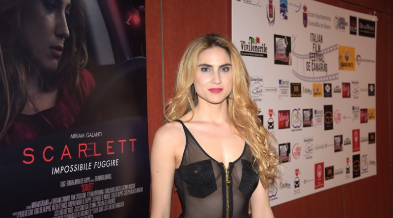 Italian Film Festival de Canarias Miriam Galante Scarlett