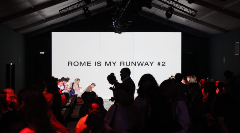 Rome Is My Runway